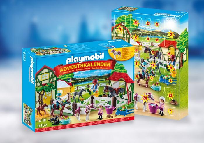 Playmobil Weihnachtskalender.Playmobil Adventskalender Paardrijclub Adventskalenderkopen Nl