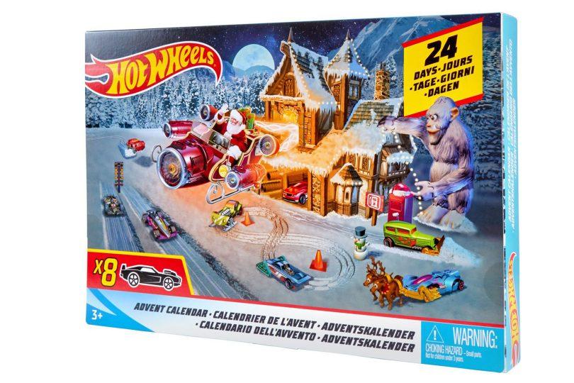 Coole Weihnachtskalender.Klaar Voor De Race Naar Kerst Hot Wheels Adventskalender