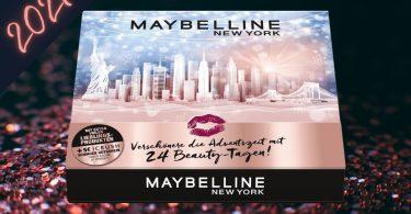 maybelline adventskalender 2021 met make up