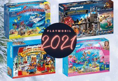 Playmobil adventskalenders 2021 overzicht