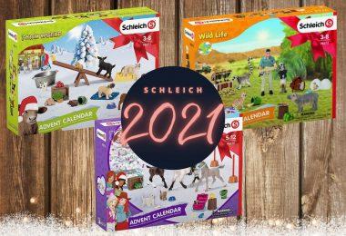 Schleich adventskalenders 2021